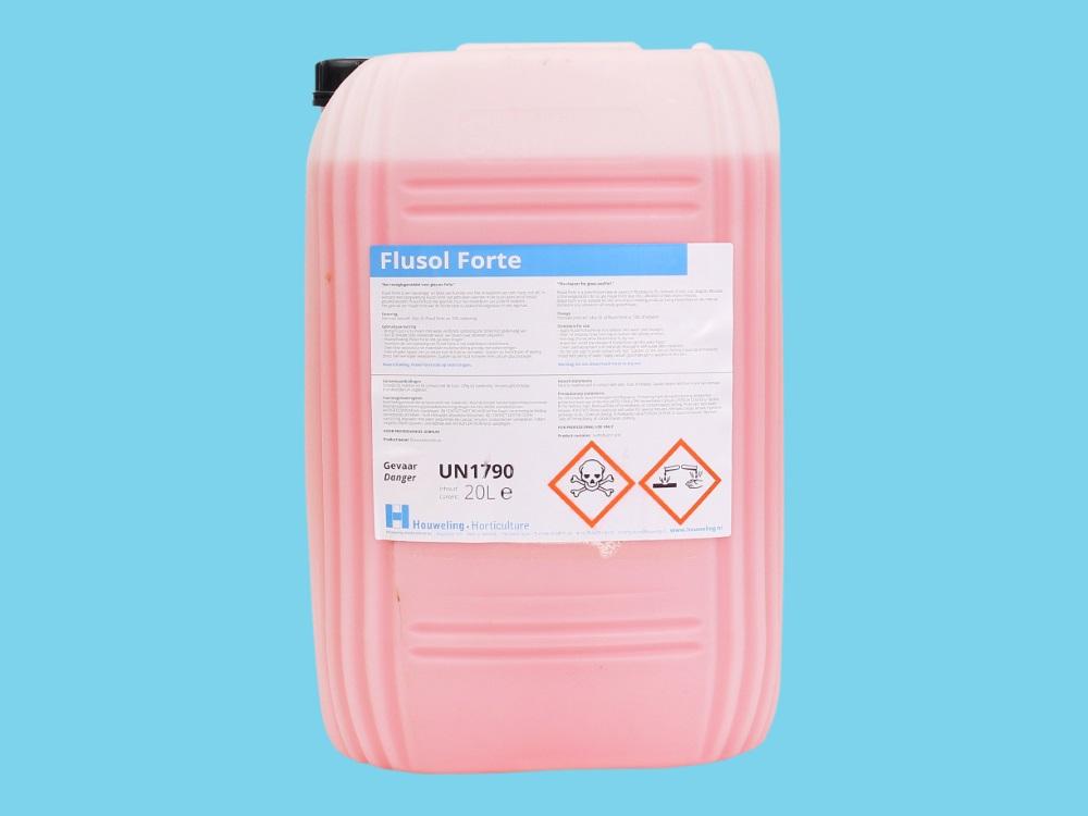Productos para limpiar cristales flusol forte 560 20 l - Productos para limpiar cristales ...